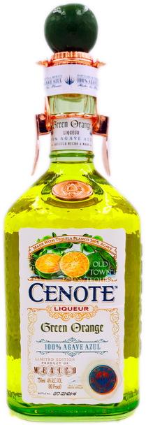 Cenote Green Orange Liqueur 750ml