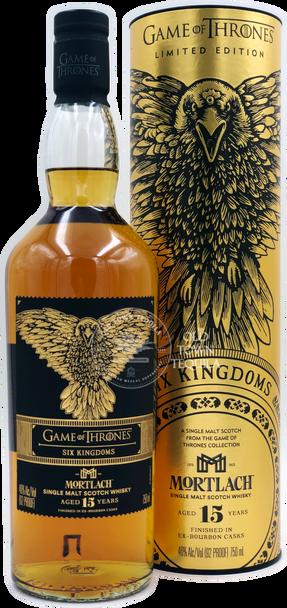 Game of Thrones Six Kingdoms Mortlach 15 Years Single Malt Scotch Whisky 750ml
