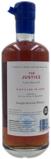The Justice 14 Years Bourbon Whiskey