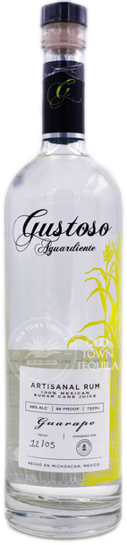 Gustoso Aguardiente Guarapo Artisanal Rum 750ml