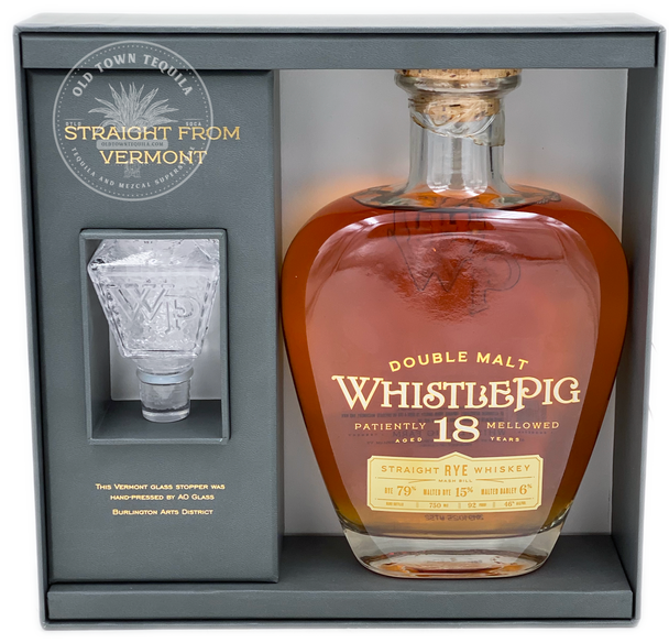 WhistlePig 18 Years Double Malt Straight Rye Whiskey