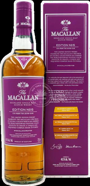 The Macallan Edition No. 5 Scotch Whisky