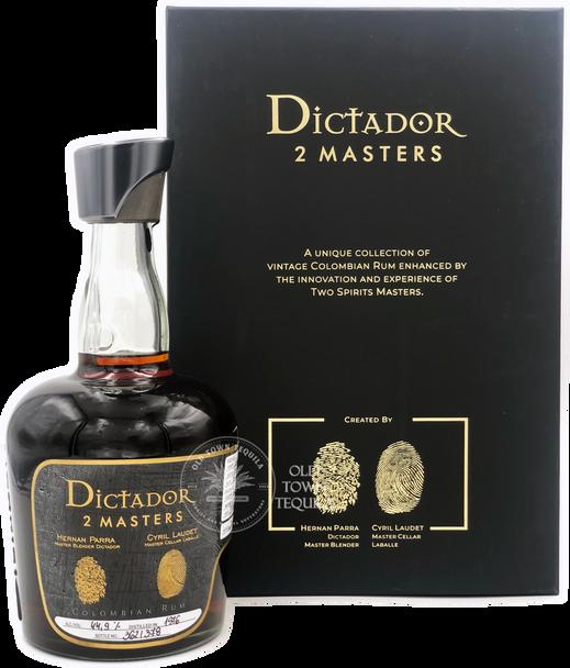 Dictador 2 Masters Rum Laballe Armagnac Edition