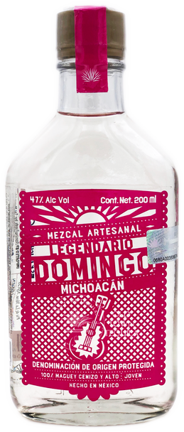 Legendario Domingo Michoacan Mezcal Artesanal 200ml