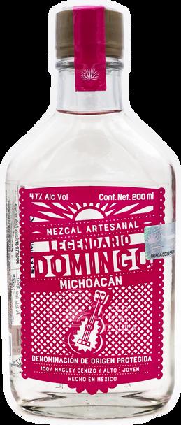 Legendario Domingo Michoacan Mezcal Artesanal 200ml