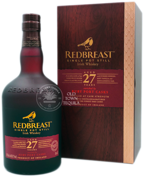 Redbreast 27 Years Ruby Port Casks Single Pot Still Irish Whiskey