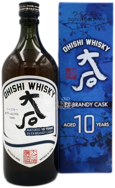 Ohishi 10 Years Ex Brandy Casks Japanese Whisky