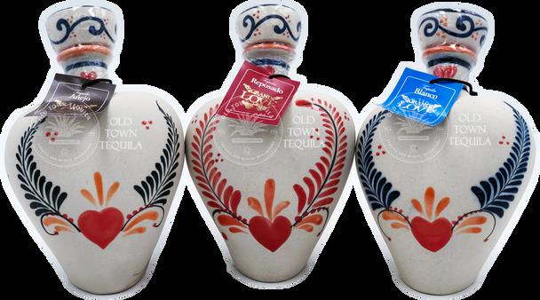 Grand Love Ceramic Trio of Tequila