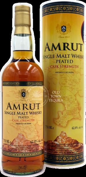 Amrut Peated Cask Strength Single Malt Whisky
