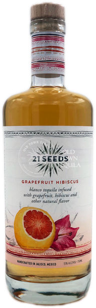 21 Seeds Grapefruit Hibiscus Infused Tequila