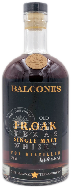 Balcones FR.OAK Texas Single Malt Whisky