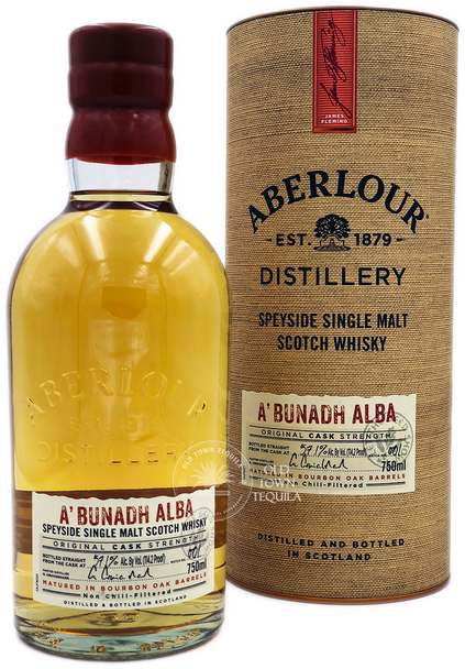 Aberlour A'bunadh Alba Speyside Single Malt Scotch Whisky 750ml