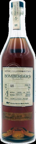 Bombergers Declaration 108 Proof 2019 Bourbon