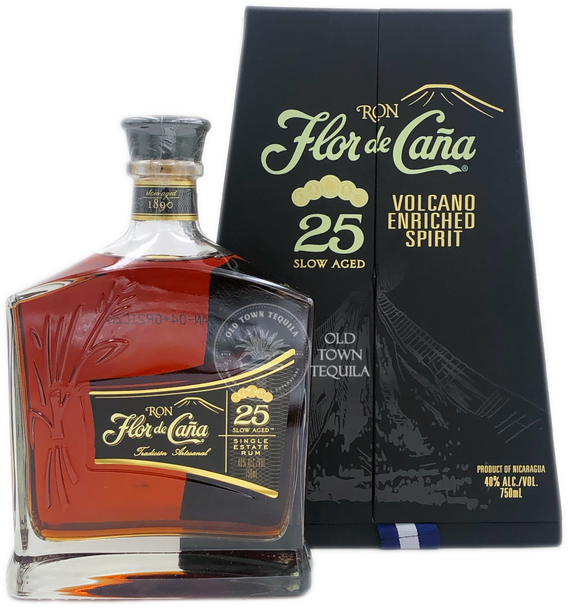 Ron Flor de Cana 25 Years Single Estate Rum