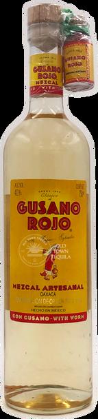Gusano Rojo Mezcal Artesanal with Worm