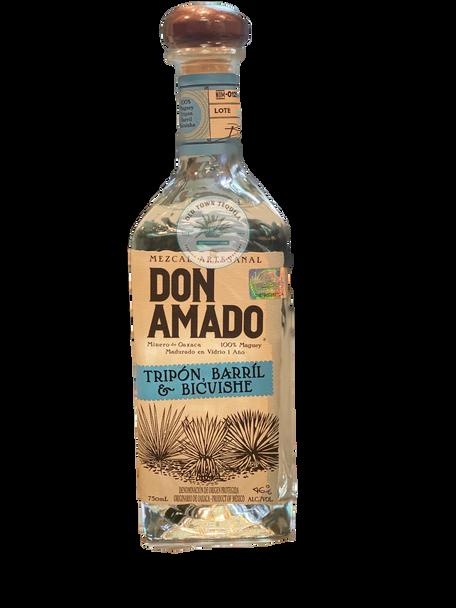 Don Amado Tripon Barril and Bicuishe Mezcal