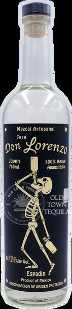 Don Lorenzo Espadin Mezcal Artesanal