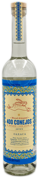 400 Conejos Espadin Mezcal Artesanal 750ml