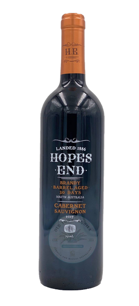 Hopes End Brandy Barrel Aged Cabernet Suavignon