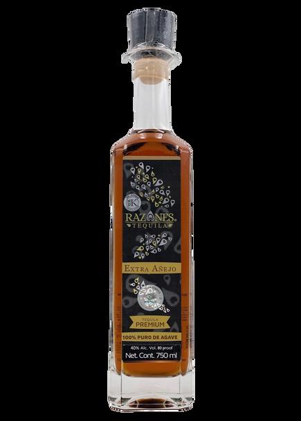 Razones Extra Anejo Premium Tequila