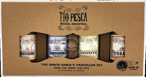 Tio Pesca Mezcal Ancestral The Santa Sabia Traveller's Kit