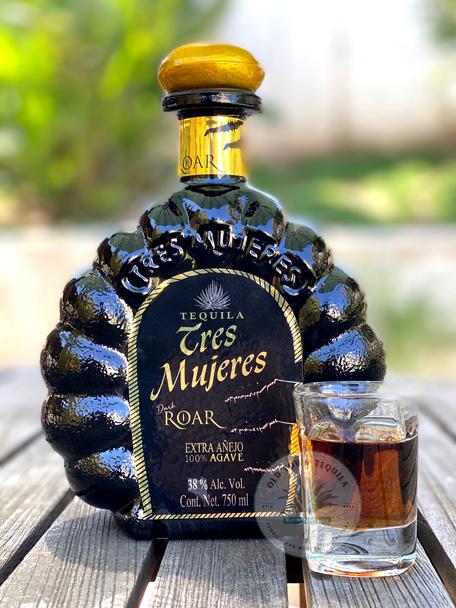 Tres Mujeres Extra Anejo Dark ROAR Tequila