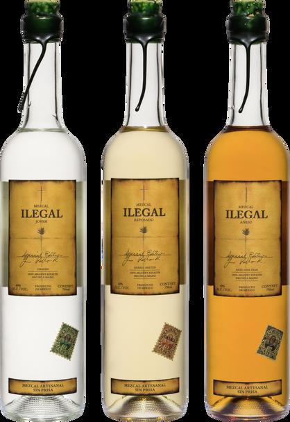 Ilegal Mezcal Expression Set of 3x 750ml