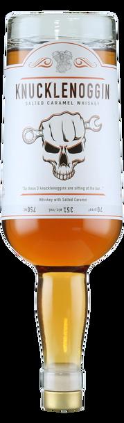 Knucklenoggin Salted Caramel Whisky 750ml (upside down)