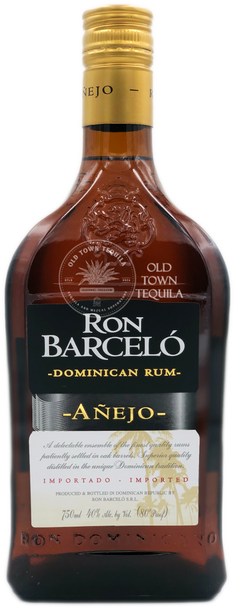Ron Barcelo Anejo Dominican Rum