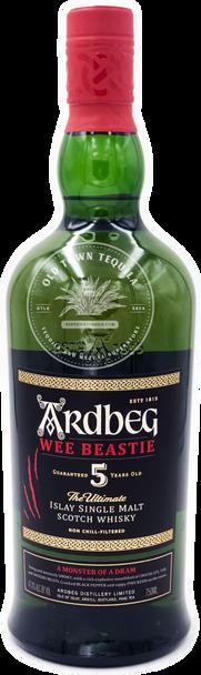 Ardbeg Wee Beastie The Ultimate Islay Single Malt Scotch Whisky Guaranteed 5 Years Old