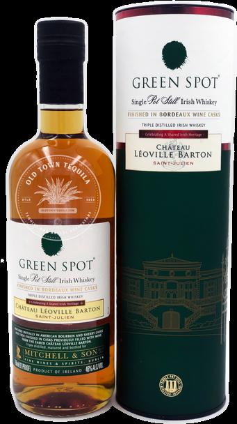 Green Spot Single Pot Still Irish Whiskey Chateau Leoville Barton