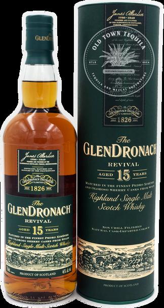 The GlenDronach  Revival Aged 15 Years Highland Single Malt Scotch Whisky 750ml