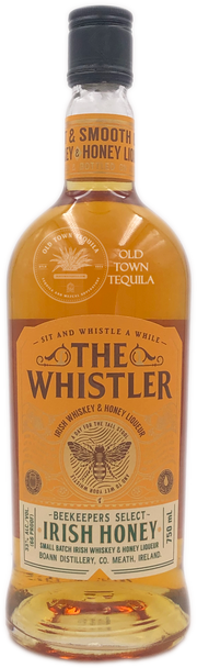 The Whistler Irish Whiskey and Honey Liqueur Beekeepers Select 750ml