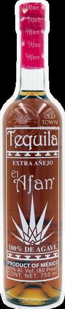 El Afan Extra Anejo Tequila 750ml