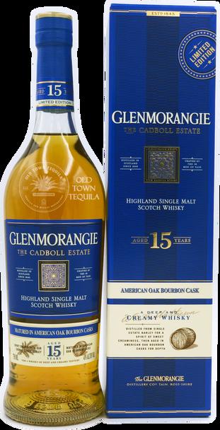Limited Edition Glenmorangie The Cadboll Estate Highland Single Malt Scotch Whisky Aged 15 Years 750ml