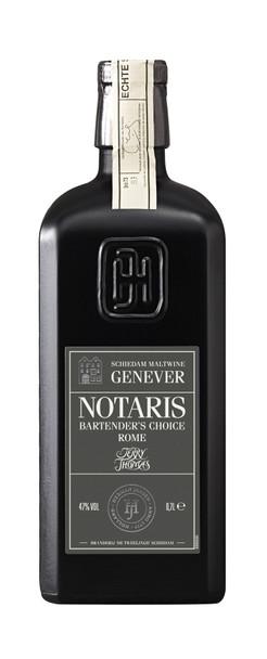 Notaris Bartender's Choice Rome Schiedam Maltwine Genever