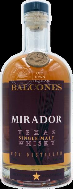 Balcones Mirador Texas Single Malt Whisky 750ml