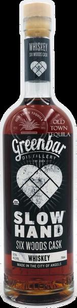 Greenbar Slow Hand Six Woods Cask Whiskey 750ml