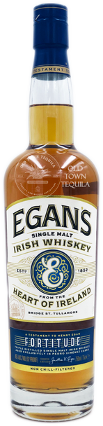 Egan's Single Malt Irish Whiskey From The Heart of Ireland 750ml