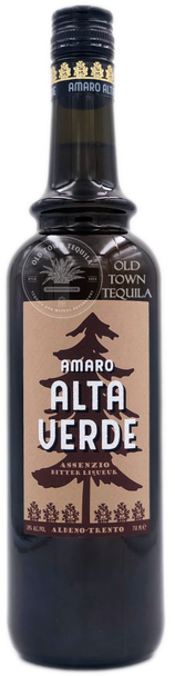Amaro Alta Verde Assenzio Bitter Liqueur 750ml