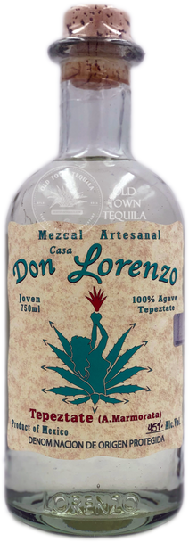 Don Lorenzo Tepeztate Mezcal Artesanal