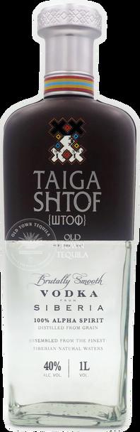 Taiga Shtof Brutally Smooth Vodka