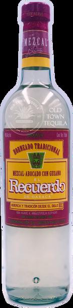 El Recuerdo de Oaxaca Mezcal Abocado con Gusano 750ml