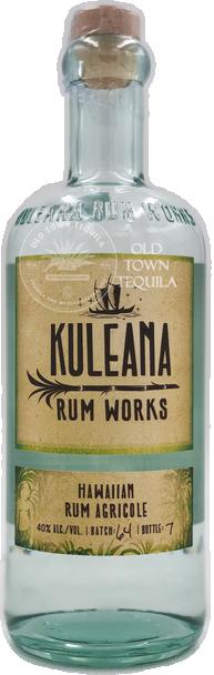 Kuleana Rum Works Hawaiian Rum Agricole 750ml