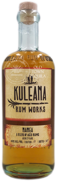 Kuleana Rum Works Nanea A Blend of Aged Rums Aged 2 Years 750ml