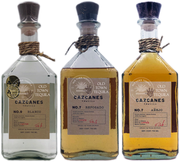 Cazcanes Tequila Full Expression Combo