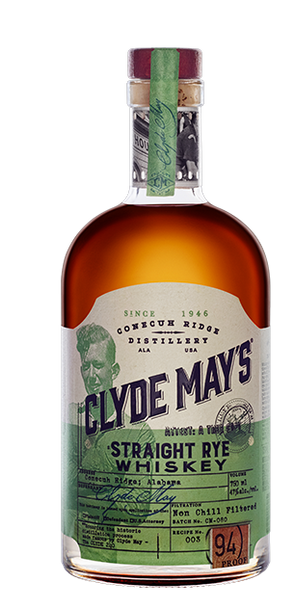 Clyde May's Straight Rye Whiskey 750ml