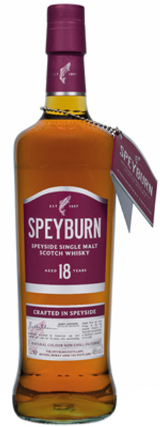 Speyburn Speyside Single Malt Scotch Whisky Aged 18 Years 750ml