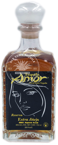 Tequila Amor World Class Extra Anejo Tequila 750ml