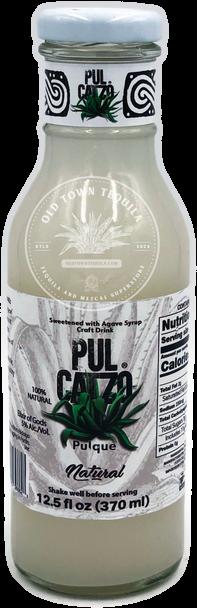 Pul Catzo Pulque Natural 370ml